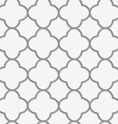 Perforated four foils forming grid vector