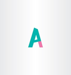 Letter p and a logo combination vector