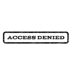 access denied watermark stamp vector image