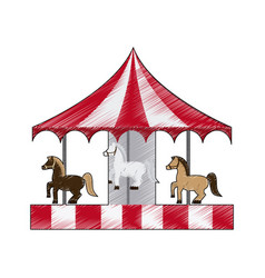 Carnival or fair icon image vector