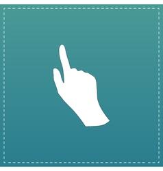 Cursor hand icon vector