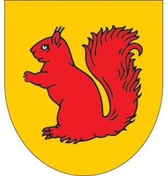 Estonia Orava vector image vector image