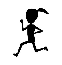 Running or jogging icon image vector