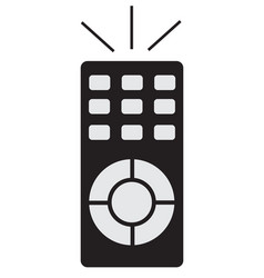 remote icon on white background vector image