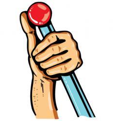 hand handle vector image vector image