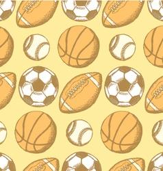 2014 07 20 38 USFootballBallBaseasket C P vector image vector image