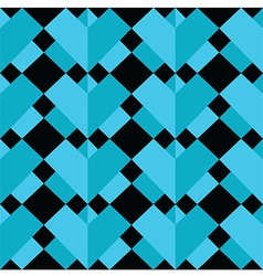 Geometric 3 d effect pattern vector