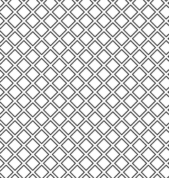 Seamless waffle texture black and white vector