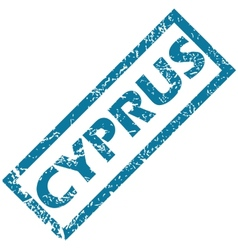 Cyprus rubber stamp vector