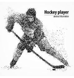 Abstraction hockey ice puck vector
