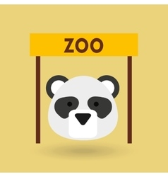 Zoo animals design vector