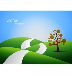 Land scape vector