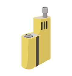 Vaporizer device icon cartoon style vector