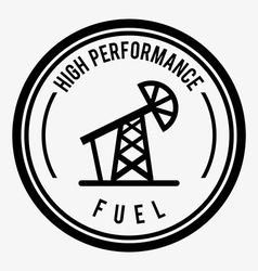 Fuel industry vector