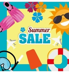 summer sale deals vector image