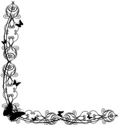 Antique Frame ornaments 8 vector image vector image