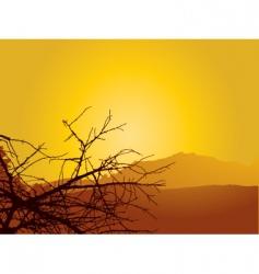 dry heat vector image