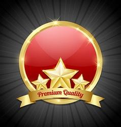 Premium quality symbol vector image vector image