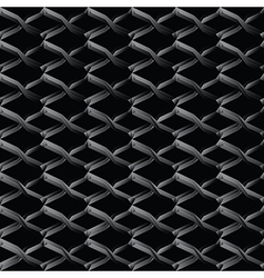 Steel mesh seamless wire background vector image