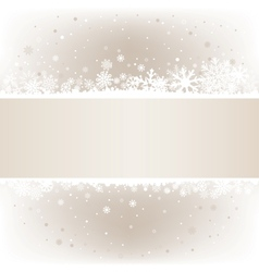 Soft light snow mesh background with textarea vector