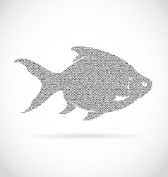 image of an fish design vector image
