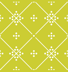 tile green decorative floor tiles pattern vector image