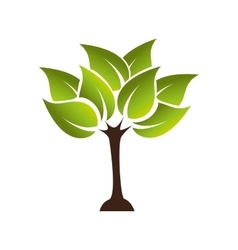 Plant growing ecology icon graphic vector
