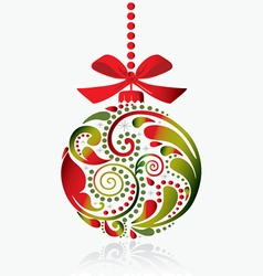 Christmas toy vector image vector image