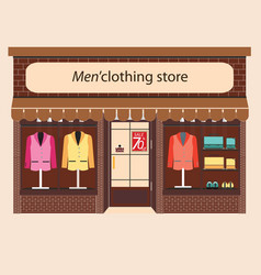 Clothing store boutique vector