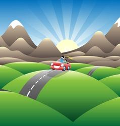 Mountainview joyride vector
