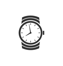 Watch icon isolated on white background vector