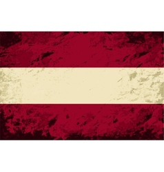 Austrian flag grunge background vector