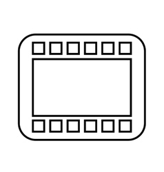 Tape record isolated icon design vector