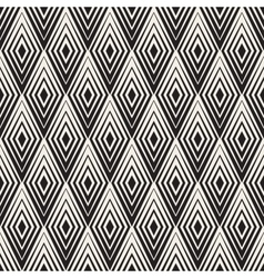 Seamless rhombus shape concentric lines vector