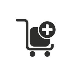 Add item icon vector