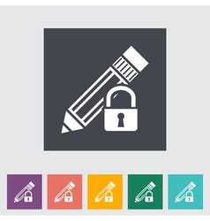 Lock for editing vector