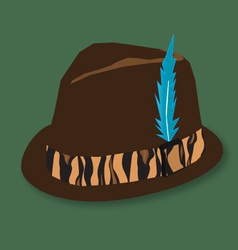 Hunting hat vector