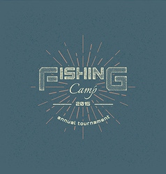 Fishing badges logos and labels for any use vector