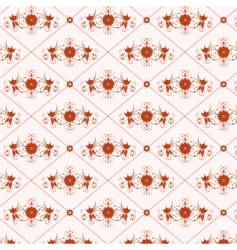 Floral vintage wallpaper vector