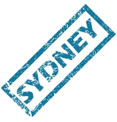 Sydney rubber stamp vector