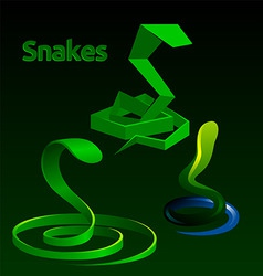 Snakes vector