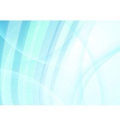 Abstract transparent waves - background concept vector image