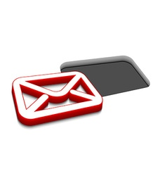 email icon design vector image