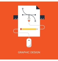 Graphic Design vector image vector image