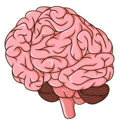 Human brain clots cartoon vector