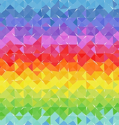 Abstract geometric background of color blocks vector image
