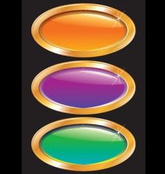 belt frame vector image vector image