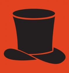 black hat vector image vector image