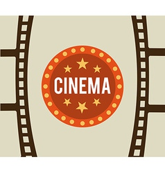 Cinema film vector