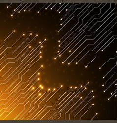 Circuit board technology background vector